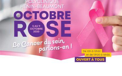 Octobre Rose Polyclinique Henin Beaumont le mardi 06 octobre